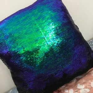 Other - Mermaid Sequin Throw Pillow